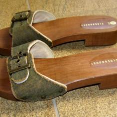 Papuci dama marca Clockhouse marimea 36 (P280_1)