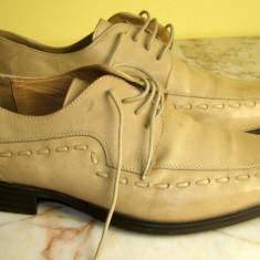 Pantofi barbati marca Bata interior exterior piele marimea 42 (P462_1) - Pantof barbat Bata, Piele naturala