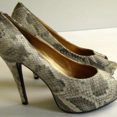 Pantofi dama marca EML marimea 39 (P558_1) - Pantof dama, Cu toc