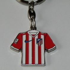 Breloc metalic fotbal - FC ATLETICO MADRID