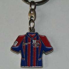 Breloc metalic fotbal - FC BARCELONA
