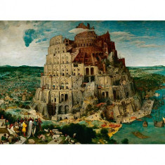 Puzzle Ravensburger Bruegel The Elder - Turnul Babel, 5000 Piese