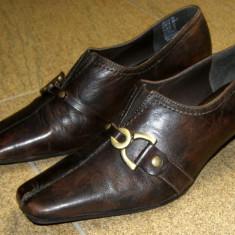 Pantofi dama marca Marco Tozzi exterior piele marimea 38 (P243_1) - Pantof dama