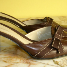 Papuci dama marca Naturalizer exterior piele marimea 9 (echivalent 43 european ) (P391_1)