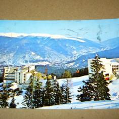 Sinaia - valea Prahovei - iarna - 1988 - 2+1 gratis - RBK13240 - Carte Postala Transilvania dupa 1918, Circulata, Fotografie