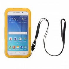 Toc subacvatic galben Samsung Galaxy S6 / Samsung Galaxy S6 edge - Husa Telefon Samsung, Transparent, Husa