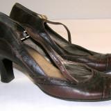 Sandale dama marca Minozzi interior exterior piele marimea 39 (P534_1)