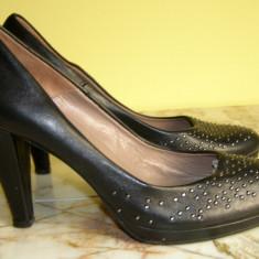 Pantofi dama marca Fumei Gianni interior exterior piele marimea 38 (P408_1) - Pantof dama, Cu toc