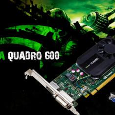 Placa video PC PNYI-E NVDIA Quadro 600 1GB DDR3 128BIT DVI RACIRE ACTIVA, PCI Express, nVidia