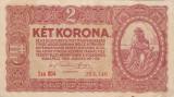 UNGARIA 2 korona 1920 VF+++!!!