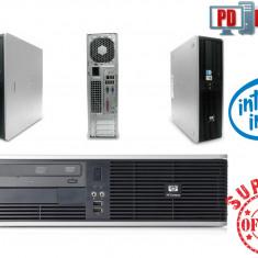 Calculator HP INTEL Dual Core 4GB Ram 80GB DVD Compatibil Windows 7 - Sisteme desktop fara monitor, 1501- 2000Mhz, 40-99 GB, LGA775