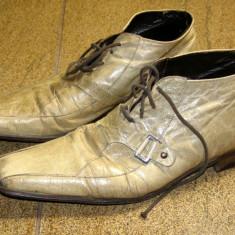 Pantofi barbati marca - interior exterior si talpa piele marimea 40 (P156_1), Piele naturala