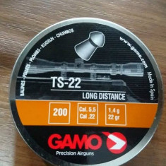 Pelete / alice arma aer comprimat GAMO TS-22 cal. 5.5mm  -22 lei