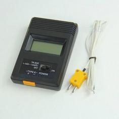 TERMOMETRU DIGITAL profesional masoara pana la 1300 grade cu sonda