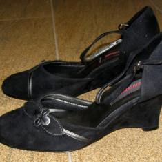 Pantofi dama marca Graceland interior exterior piele marimea 41 (P287_1) - Pantof dama