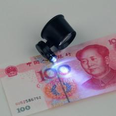 Lupa 10x lupa 10 x lupa numismatica lupa ceasornicar lupa bijutier LUPA CU LED