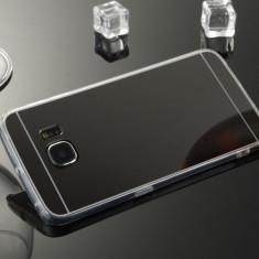 Husa Samsung Galaxy S7 Edge TPU Mirror Black - Husa Telefon Samsung, Negru, Gel TPU, Fara snur, Carcasa