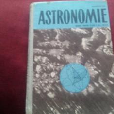 MANUAL ASTRONOMIE CLASA XI 1966 - Carte Astronomie