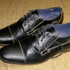 Pantofi barbati marca Memphis marimea 45 (P214_1), Negru