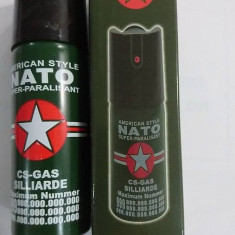 Spray autoaparare NATO 60 ml - 20 lei - Spray paralizant