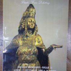 Catalog licitatie Drouot, 17 Decembrie 1990 - Carte Istoria artei