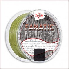 Fir Monofilament Carp Zoom Fanatic 1000m 0.34mm 10.20kg Verde Olive - Fir Pescuit