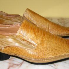 Pantofi barbati marca Dalao interior exterior piele marimea 44 (P341_1), Piele naturala