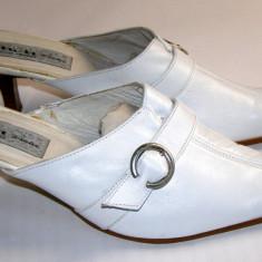 Papuci dama marca Mim Diseno interior exterior piele marimea 41 (P547_1)