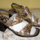 Sandale dama marca Nero Giardini interior exterior si talpa piele marimea 36 1/2 (P332_1)
