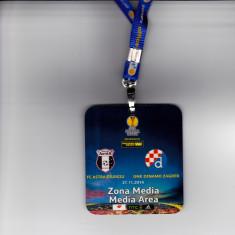 Acreditare meci fotbal ASTRA GIURGIU - DINAMO ZAGREB 27.11.2014 - Bilet meci