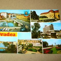 Oradea - Bihor - masina - 1979 - 2+1 gratis - RBK13302 - Carte Postala Crisana dupa 1918, Circulata, Fotografie