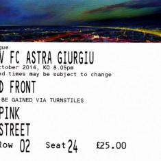 Bilet meci fotbal CELTIC GLASGOW - ASTRA GIURGIU 23.10.2014 Europa League