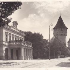 SIBIU, TEATRUL ORASENESC, FOTO ORIG. E. FISCHER, SIBIU 1944 - Carte Postala Transilvania dupa 1918, Circulata, Fotografie