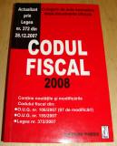 CODUL FISCAL 2008 - Culegere de Acte Normative