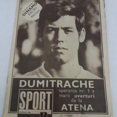 REVISTA SPORT NR. 7/ 1969 - Revista barbati