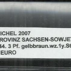 PROVINZ SACHSEN - SOWJETISCHE ZONE 1945 - 744, 3 Pf - MICHEL 2007, Stampilat