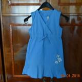 Rochita albastra cu 3 flori, Alta, Albastru