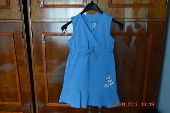 Rochita albastra cu 3 flori