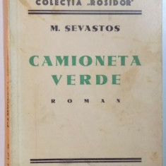 CAMIONETA VERDE de M. SEVASTOS - Roman