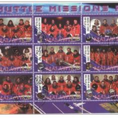 MALAWI 2010- COSMOS, AERONAUTICA, MISUNILE SHUTTLE 11 - COLITA STAMPILATA