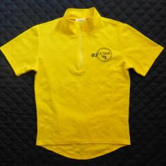 Tricou ciclism Bike Shirt 03 Le Tour; pentru copii 12 ani; impecabil, ca nou