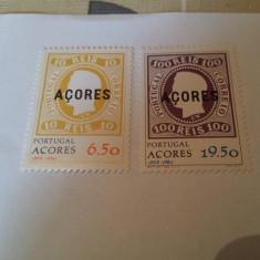 Portugalia/azore/ 1980 serie+colita MNH - Timbre straine, Nestampilat