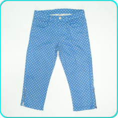 DE FIRMA _ Pantaloni ¾, bumbac + elastan, H&M _ fete | 12 - 13 ani | 158