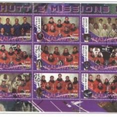 MALAWI 2010- COSMOS, AERONAUTICA, MISUNILE SHUTTLE 10 - COLITA STAMPILATA