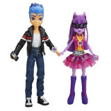 Set 2 Papusi My Little Pony Equestria Girls Twilight Sparkle And Flash Sentry