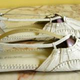Tenisi/balerini marca Picnic interior exterior piele marimea 40 (Q63_1)