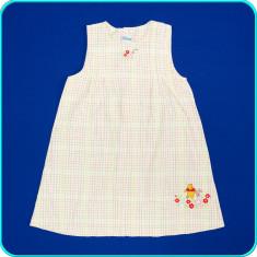 DE FIRMA _ Rochie de vara cu Winnie, bumbac, H&M Disney _ fetite | 4-5 ani | 110, Marime: Alta, Culoare: Multicolor