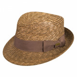 Best Price 16466457 - Palarie Kangol Wheat Braid Arnold Tan(Masura : L) - Palarie Dama