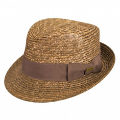 Best Price 16466457 - Palarie Kangol Wheat Braid Arnold Tan(Masura : L)