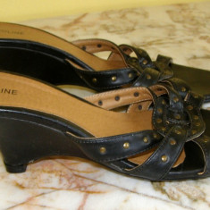 Pantof dama marca Euroline marimea 39 (Q32_1) - Sabot dama, Culoare: Din imagine
